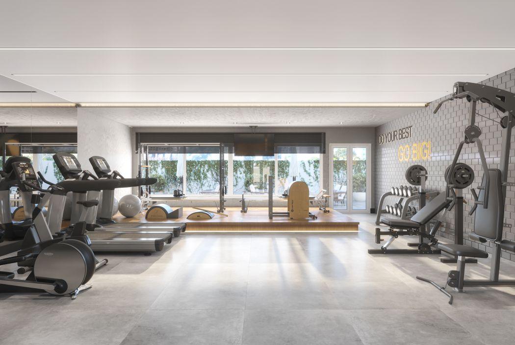 Academia e Pilates